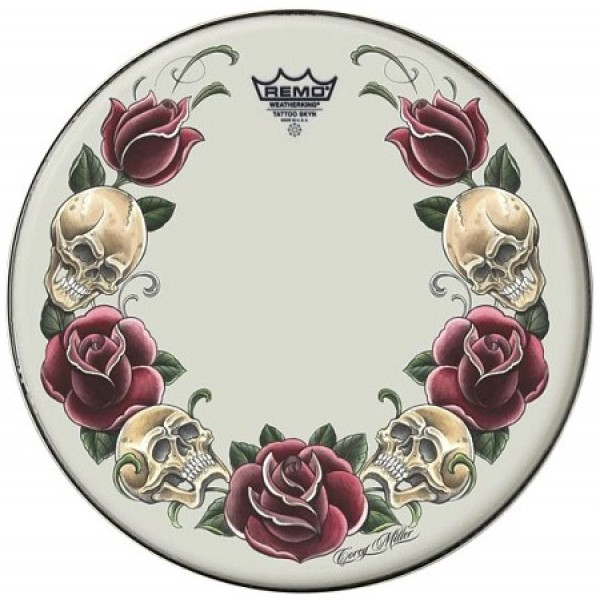 Remo 14'' Rock and Roses White