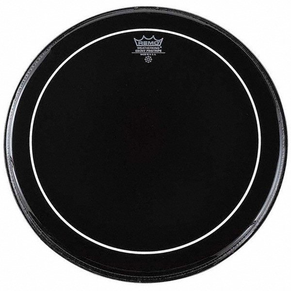 Remo 22'' Ebony Pinstripe Bass Drum