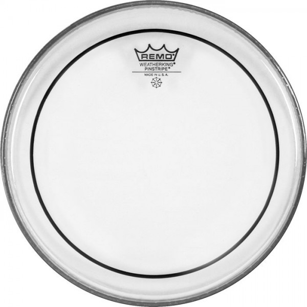 Remo 24'' Pinstripe Clear Bass Drum