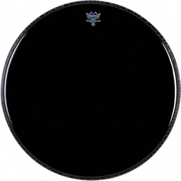 Remo 20'' Ebony Powerstroke 3 Bass Drum