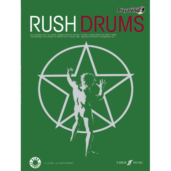 Authentic Playalong: Rush Drums /CD