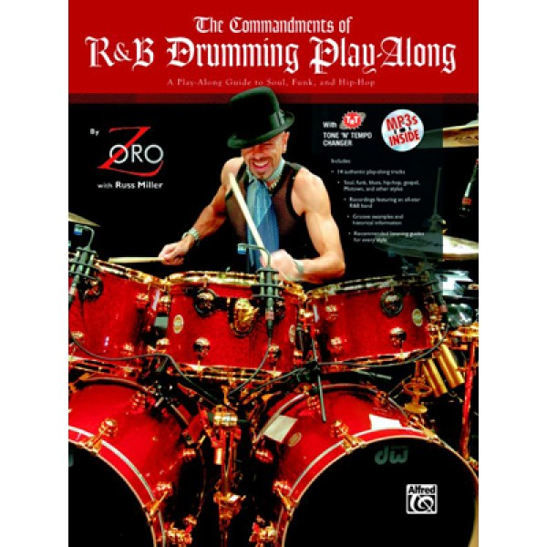 The Commandments of R&B Drumming Play-Along: Book & MP3 CD