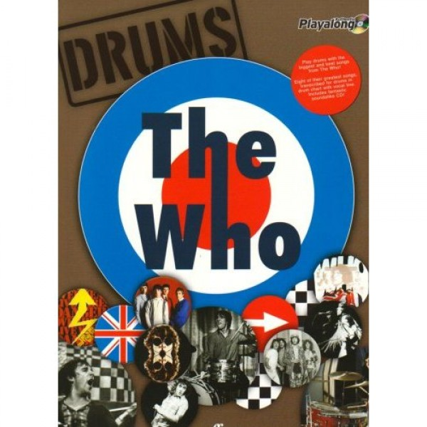Authentic Playalong: The Who - Drums (Book And CD)