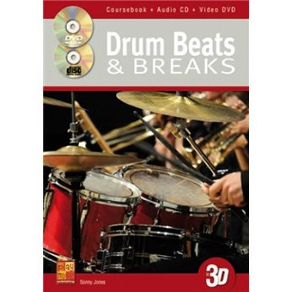 Sonny Jones: Drum Beats & Breaks (Book/CD/DVD)